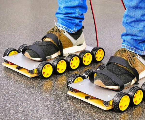 DIY Electric Skates