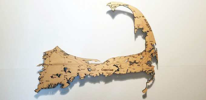 Floating Wood Maps
