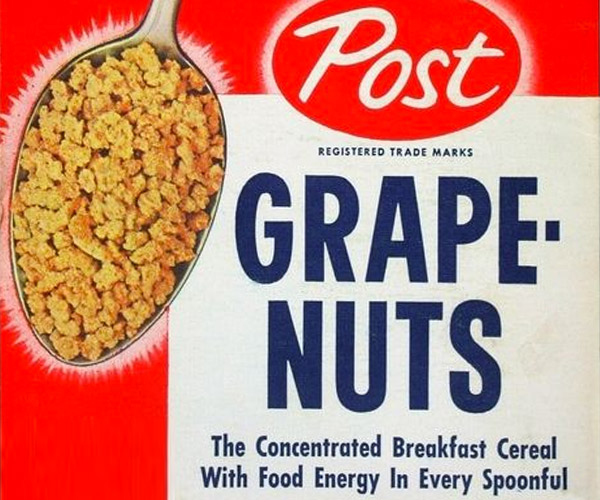 Why Grape-Nuts Are Called That
