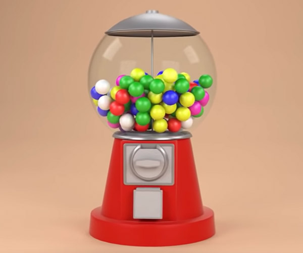 How a Gumball Machine Works
