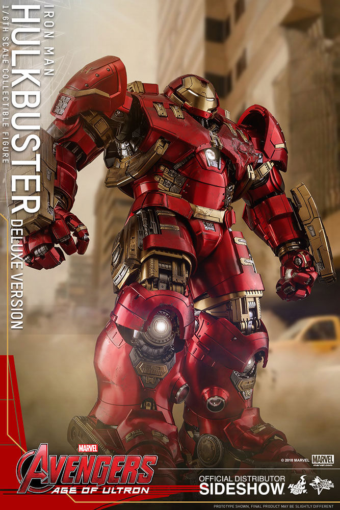 Hot Toys Hulkbuster Deluxe Figure