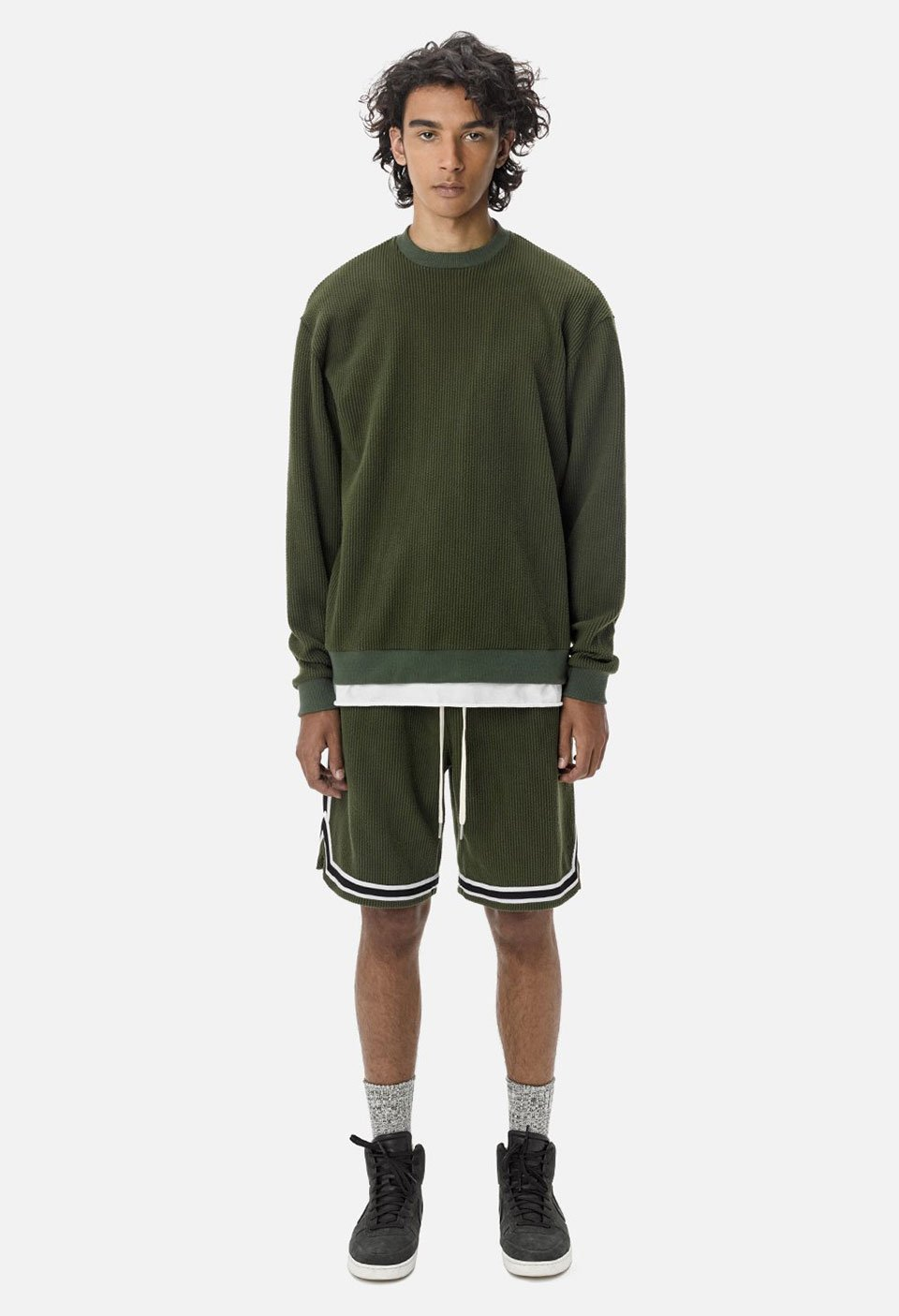 Corduroy Basketball Shorts