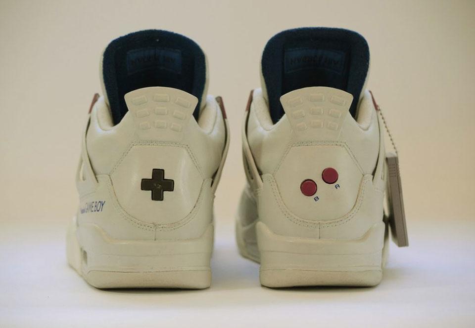 Freakersneaks Jordan IV Game Boy