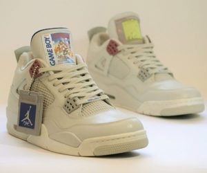 Freakersneaks Jordan IV Game Boy