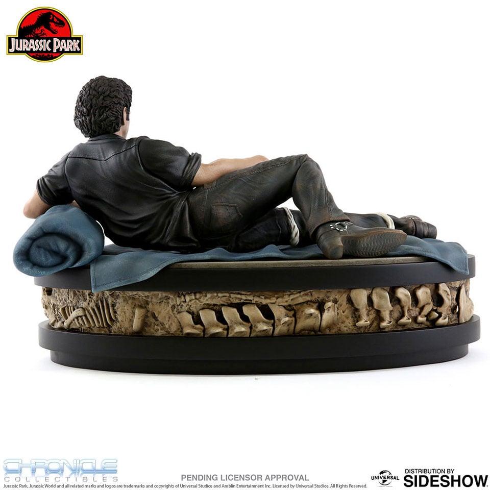 Jurassic Park Ian Malcolm Statue