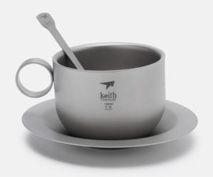 Keith Titanium Coffee Cup Set