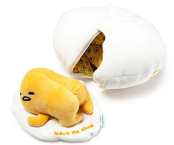 Kidrobot Gudetama Lazy Egg Plush