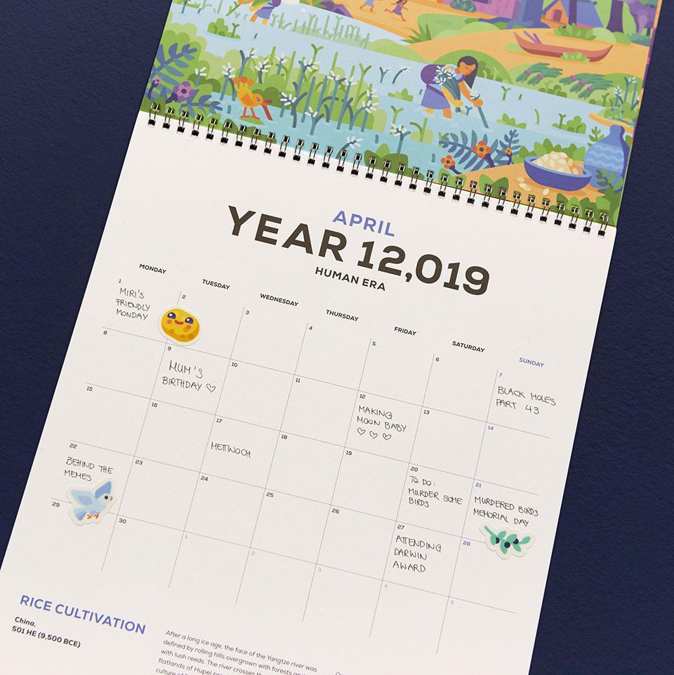 Kurzgesagt 12,019 Calendar