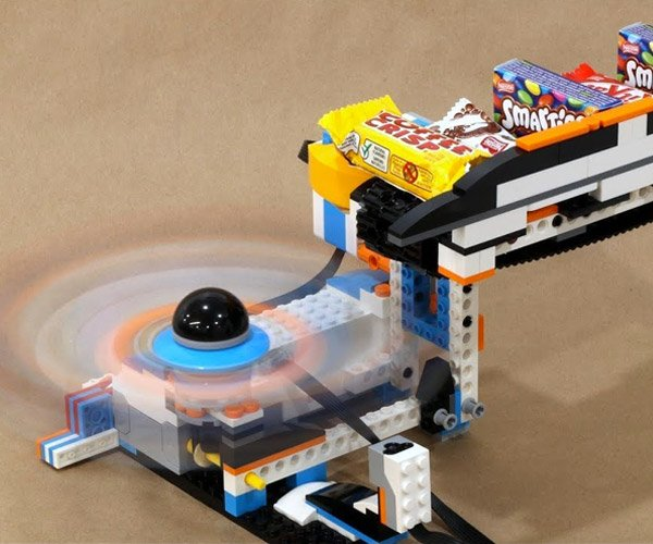 LEGO Halloween Candy Launcher