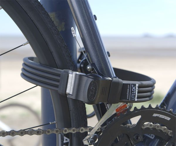 Litelok Silver Bike Lock