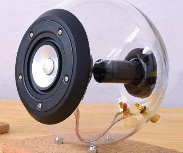 Making Spherical Glass Speakers