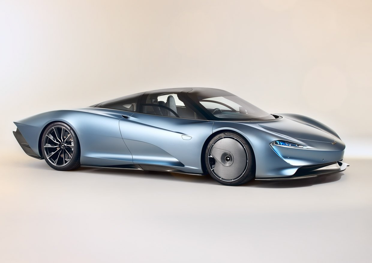The Mclaren Speedtail Goes 0 To 186 Mph In 12 8 Seconds