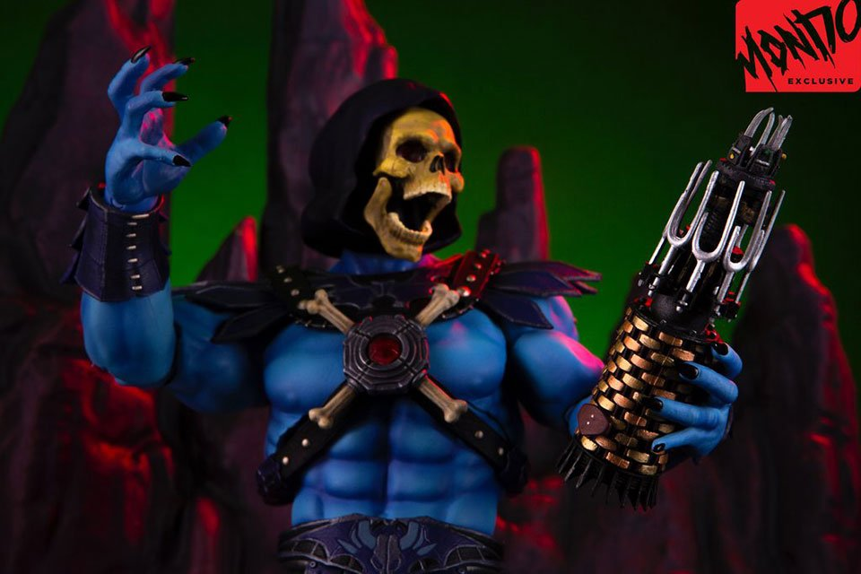 Mondo Skeletor Action Figure