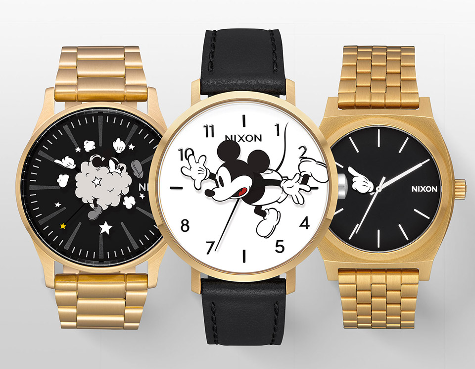 NIXON x Mickey Mouse