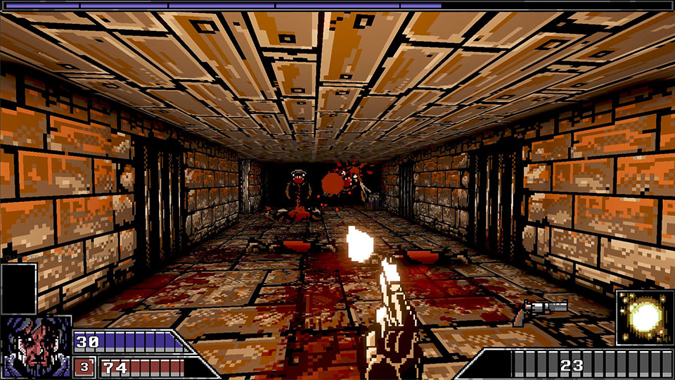 Project Warlock Is A Colorful Old School First Person