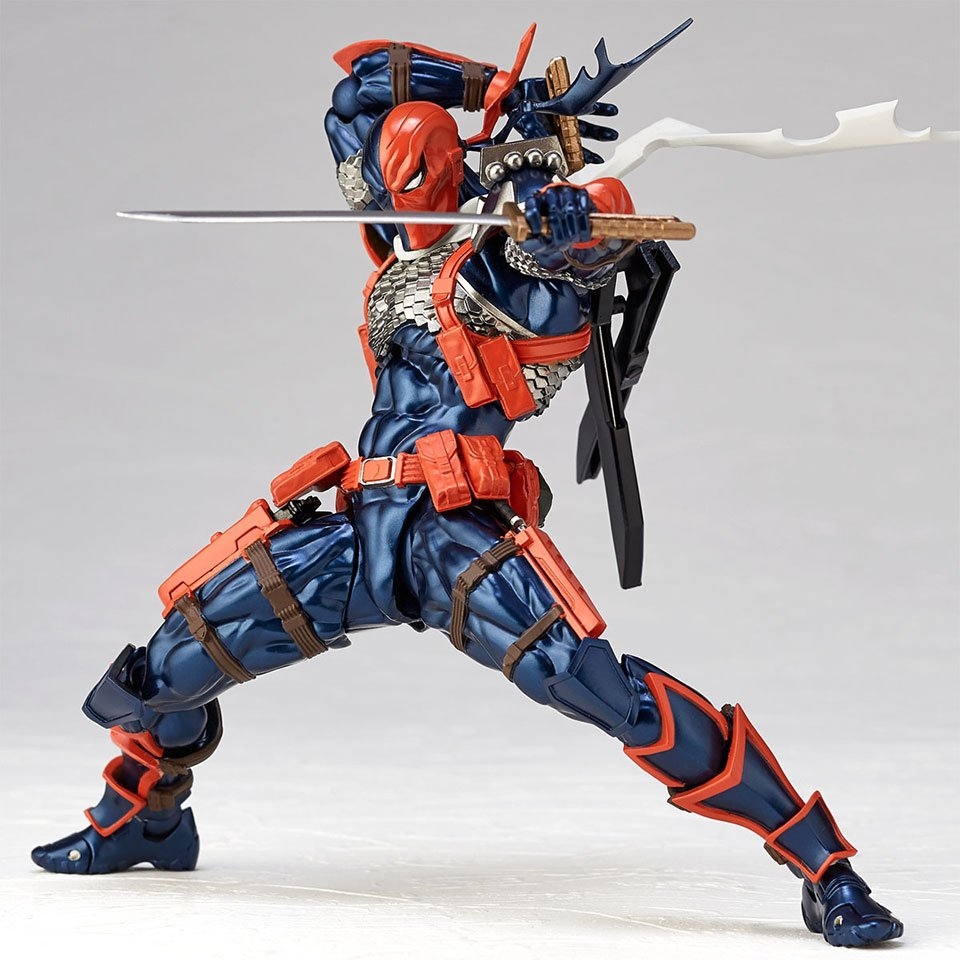 Revoltech Deathstroke Action Figure