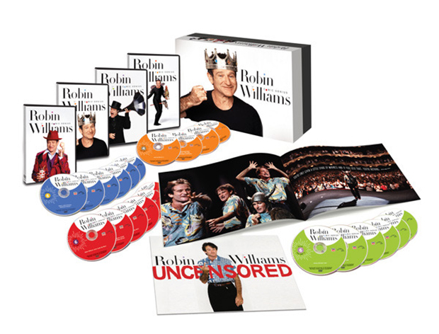 Robin Williams: Comic Genius Box Set