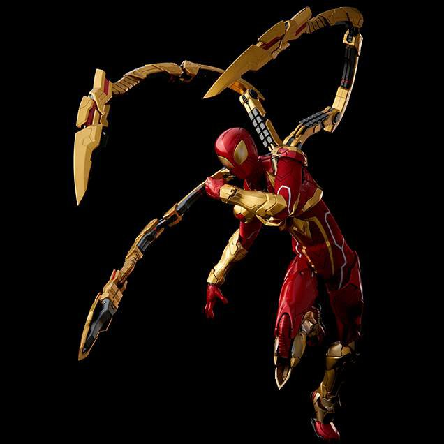 RE:EDIT Iron Spider Action Figure