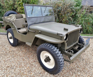 Steve McQueen's 1945 Willys Jeep