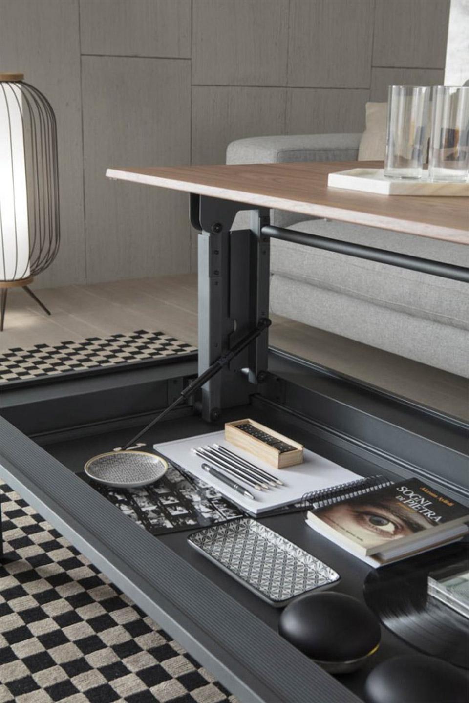 Metrino Coffee Table Desk