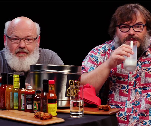 Tenacious D vs. Hot Wings