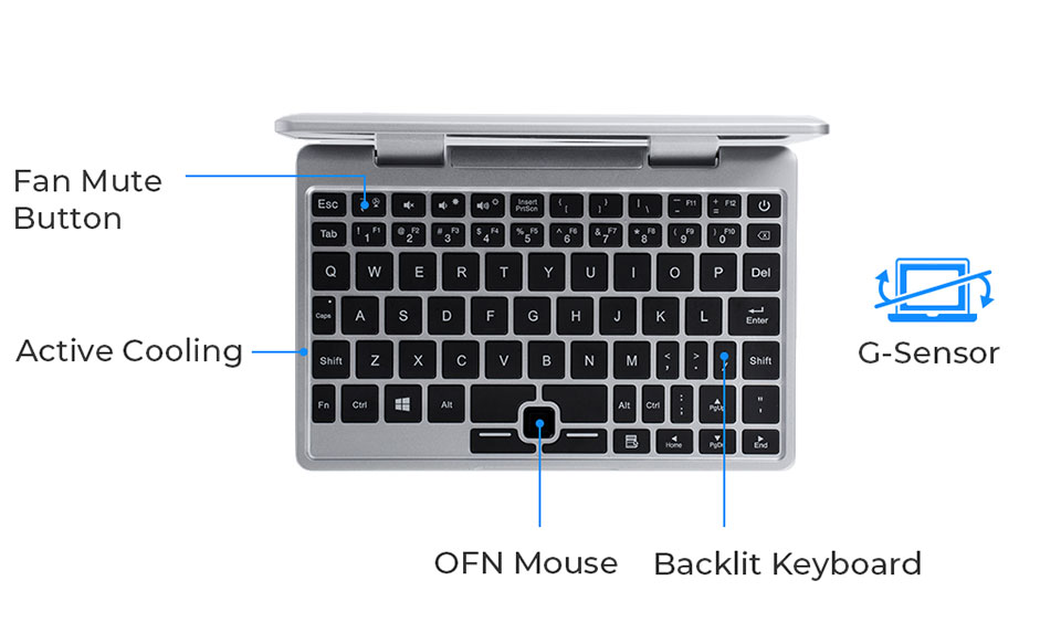 Topjoy Falcon 2-in-1 Laptop