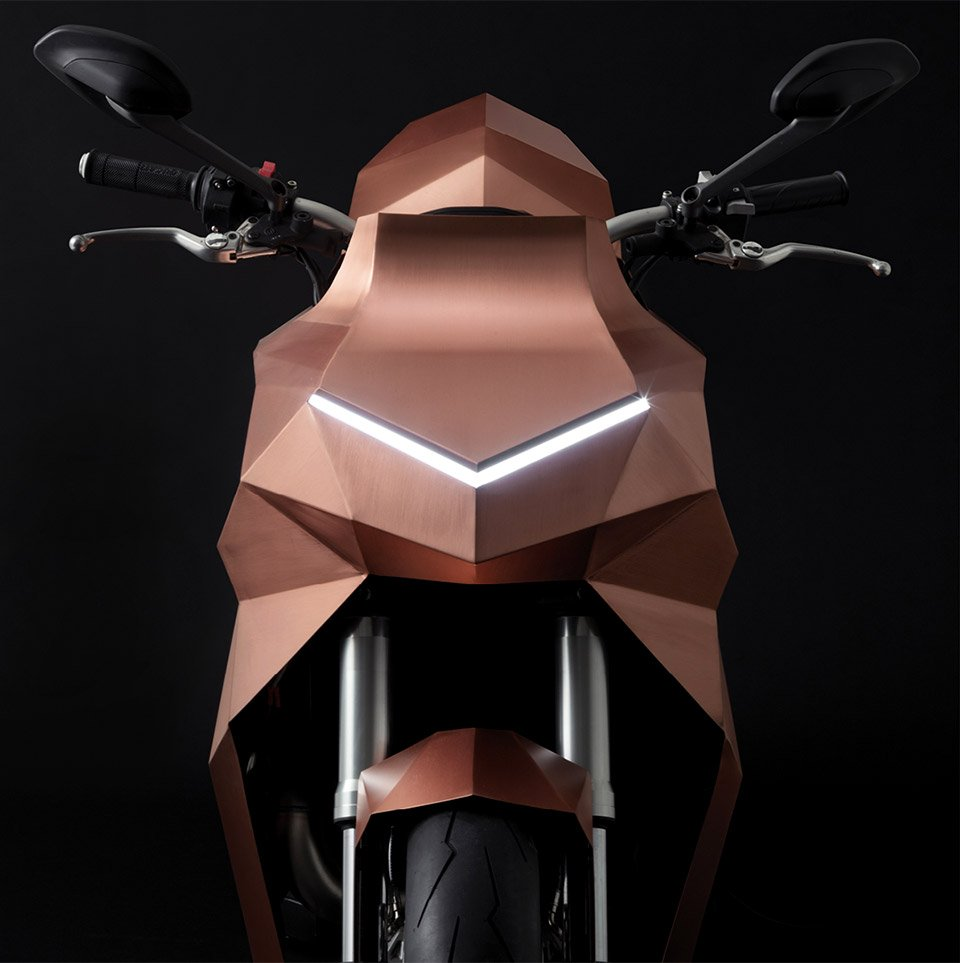 Trimarchi Copper Motorcycle