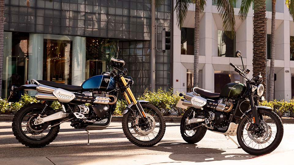 Triumph's Scrambler 1200 XC And XE Are Ready For On-Road