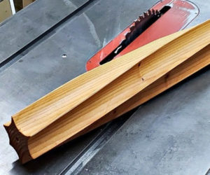 Turning Wood with a Table Saw