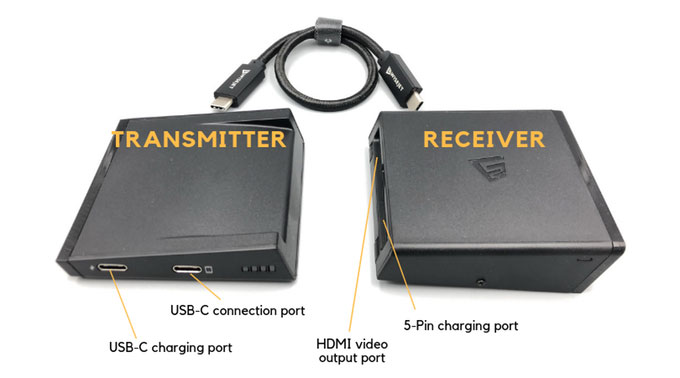 V-Jet 4K Wireless HDMI Adapter