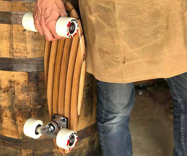 Whiskey Rider Mini Skateboard