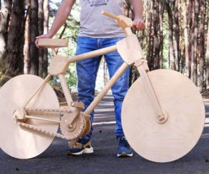 Making an All-wood Bike