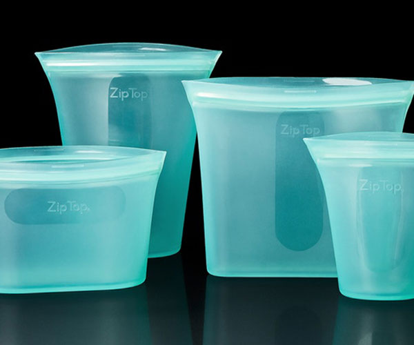 Zip Top Reusable Containers