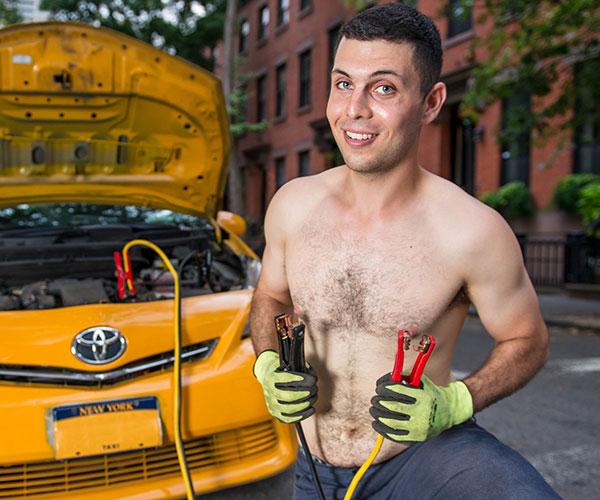 2019 NYC Taxi Drivers Calendar