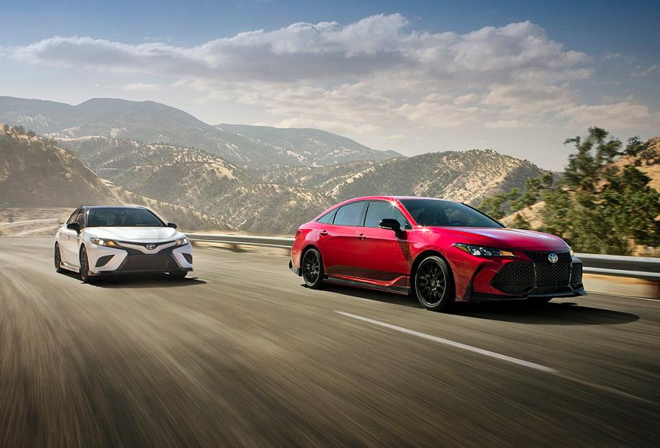 2020 Toyota Camry & Avalon TRD