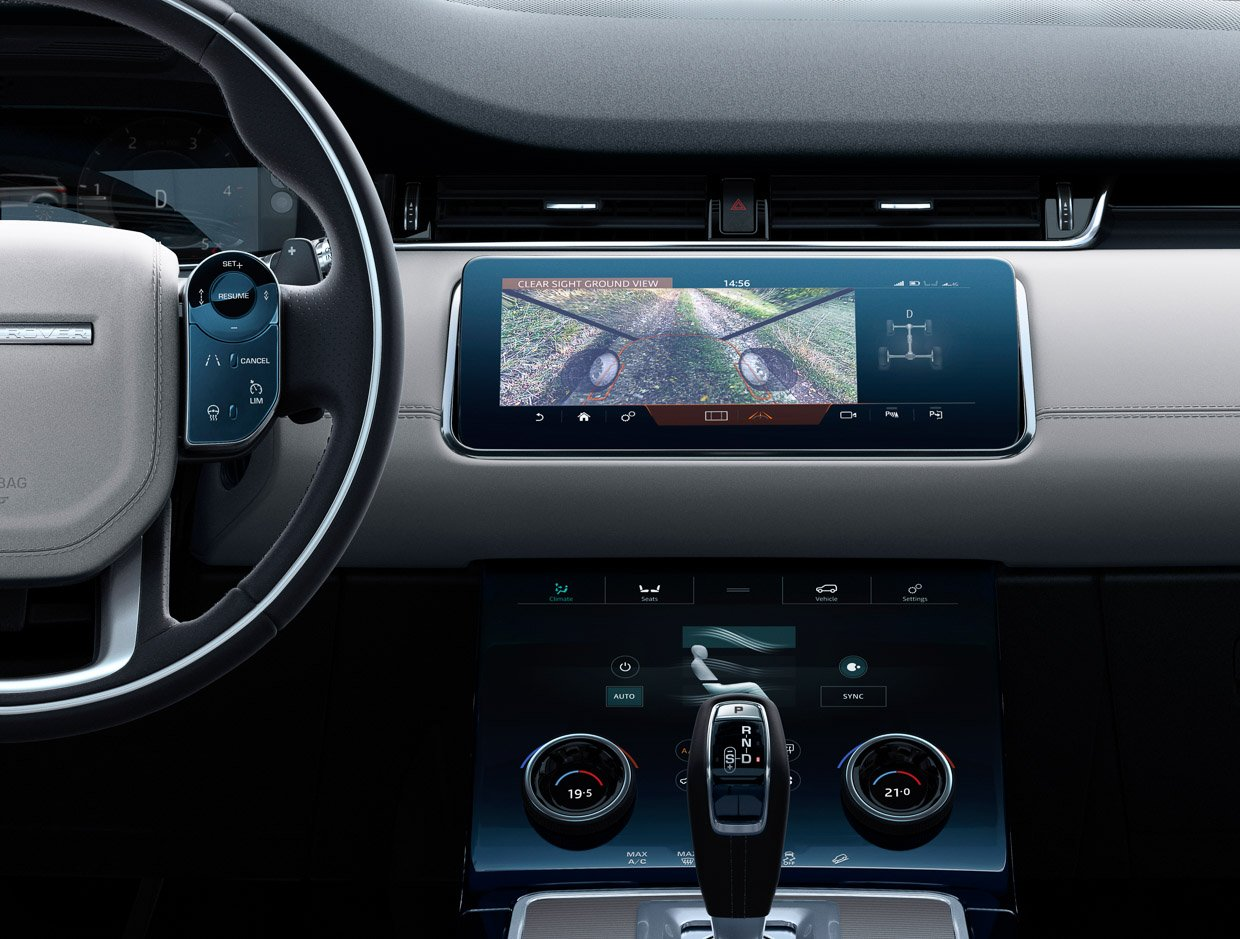The 2020 Range Rover Evoque is Packed with Technology and ...