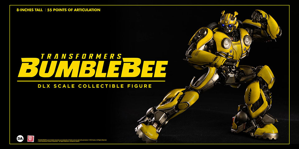 3A Toys' Bumblebee Movie Action Figure is Ready to Roll out