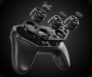 Cool controllers on The Awesomer