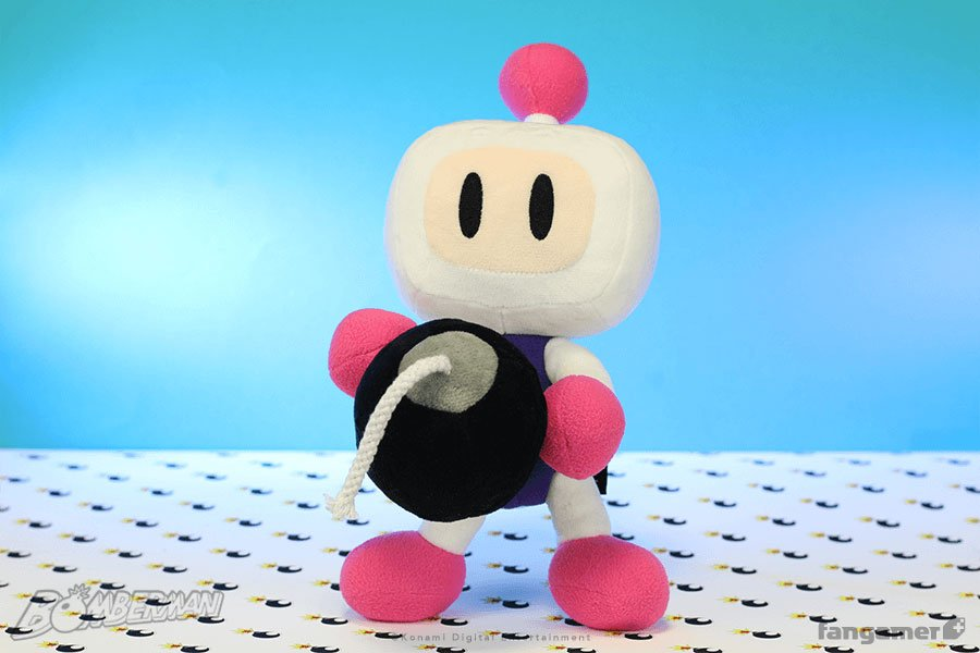 Bomberman Plush