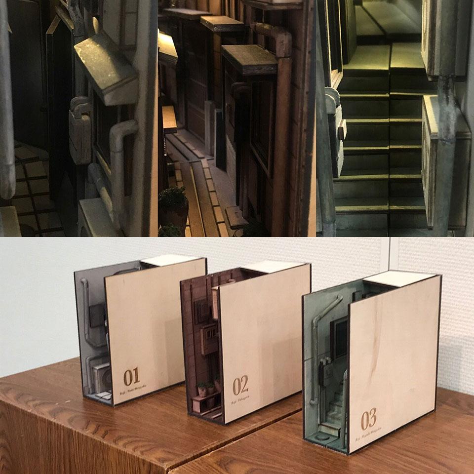 Bookshelf Back-Alley
