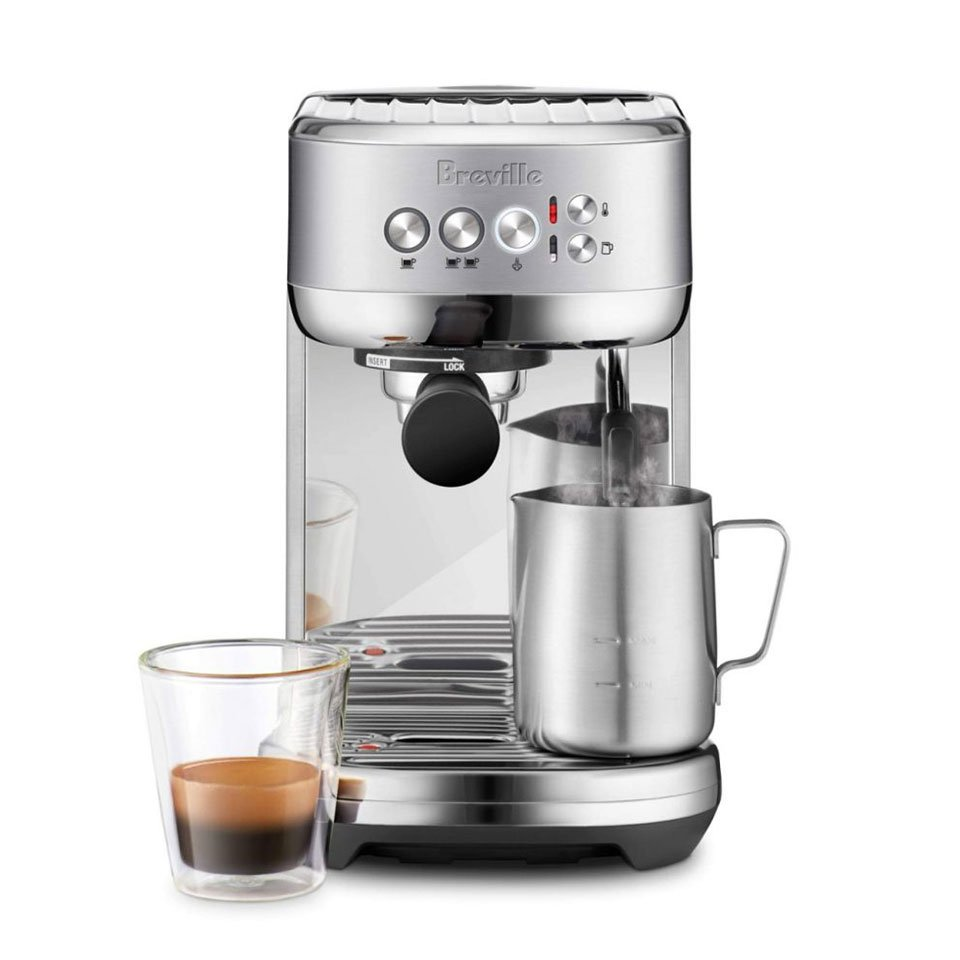 The Bambino Plus Lets You Easily Make Espresso With Foamed