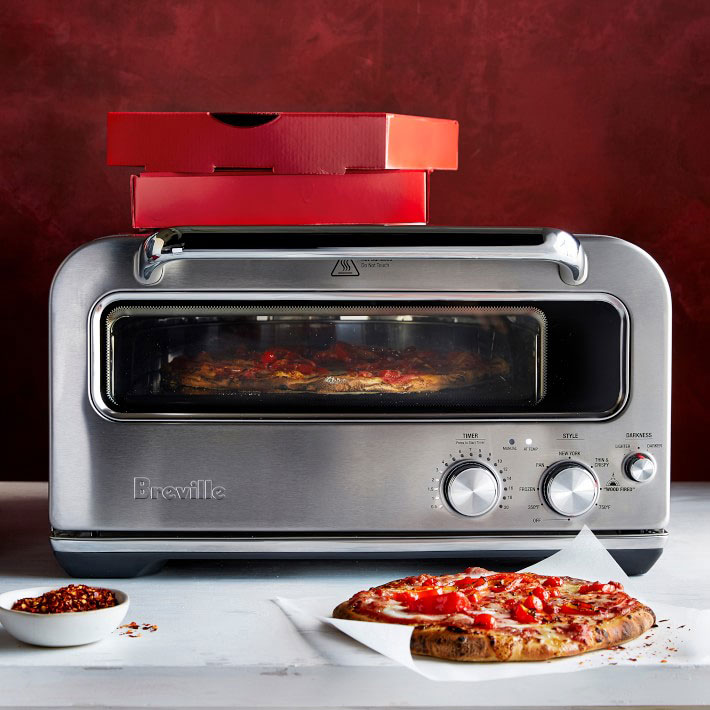 The Breville Smart Oven Pizzaiolo Makes Pizza As Well As A