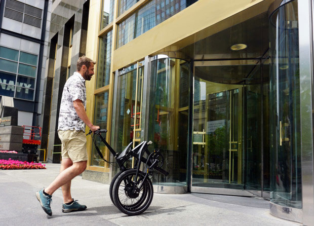 Carbo Folding Electric Bicycle