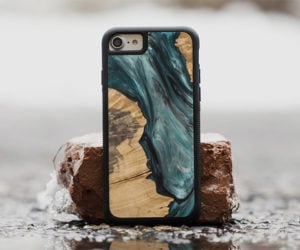 Carved Satellite Phone Cases