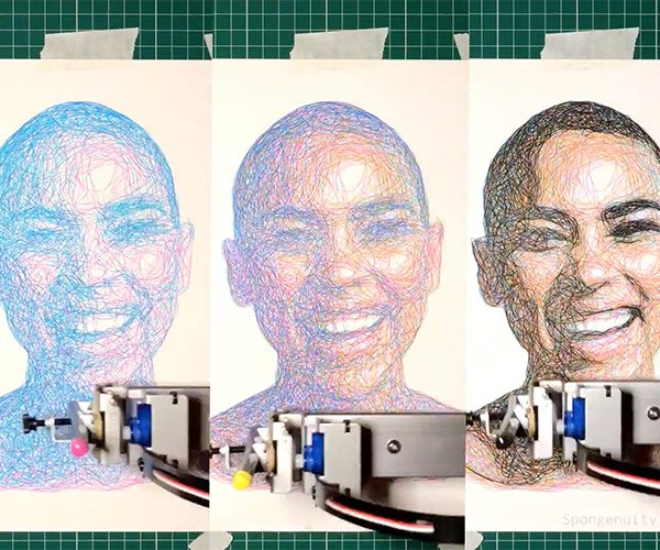 CMYK Generative Portraits
