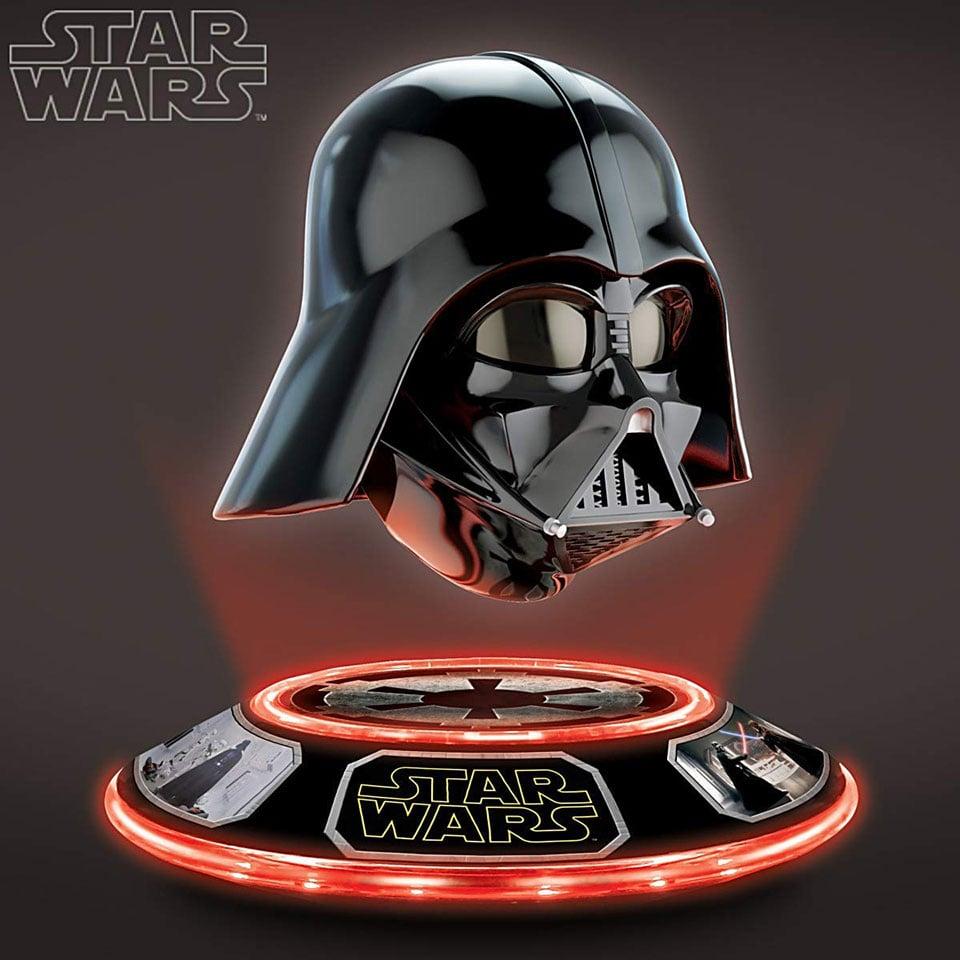 Levitating Darth Vader Helmet