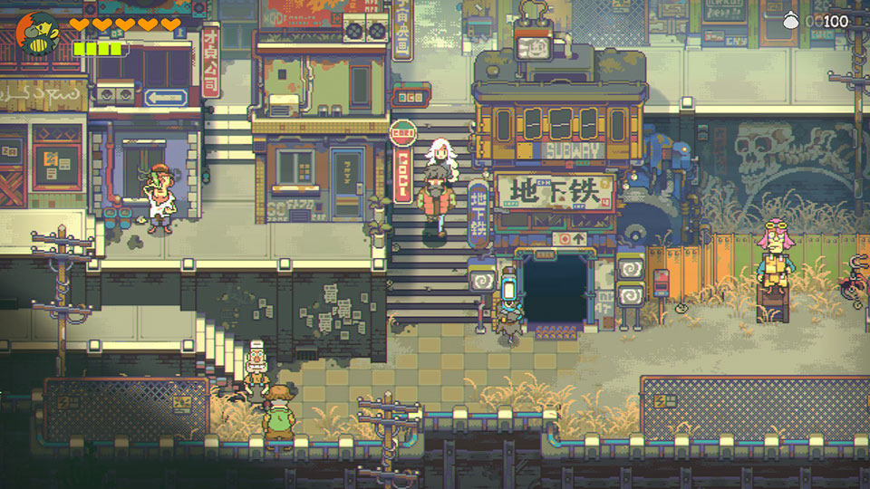 Eastward is an Adventure RPG with a Cute Visual Style Inspired by Anime