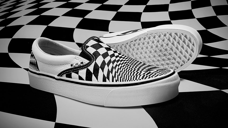 End Clothing Gives Vans Checkerboard Pattern A Dizzying Twist