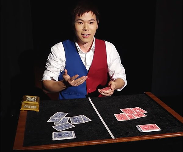 Eric Chien's Ribbon Magic Trick