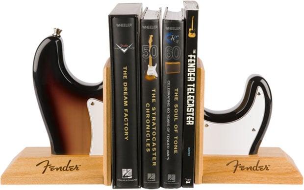 Fender Guitar Bookends